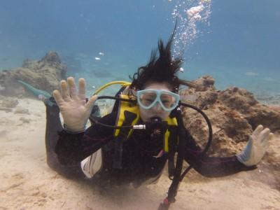 体験ダイビング写真6