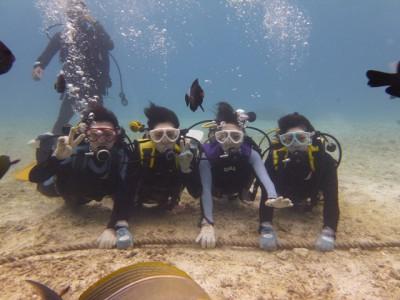 体験ダイビング写真2