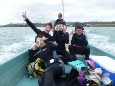 体験ダイビング写真1