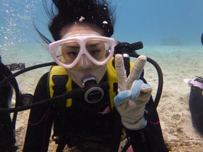 体験ダイビング写真4
