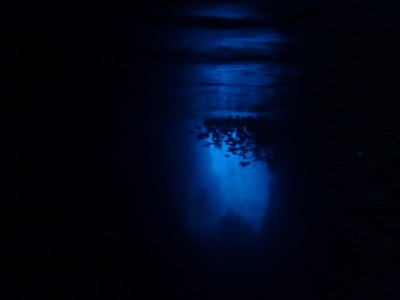 青の洞窟写真
