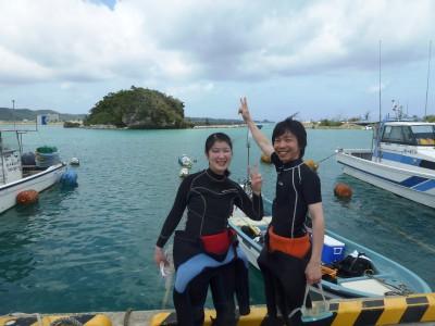 沖縄 恩納村 体験ダイビング