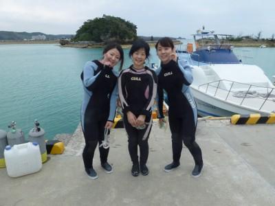 お魚いっぱい体験ダイビング1