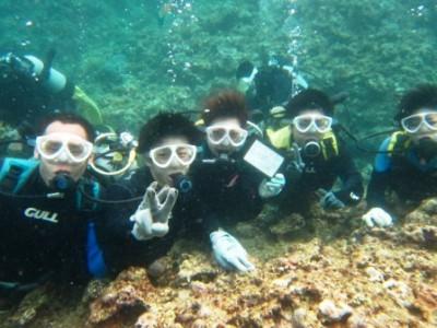 体験ダイビング 青の洞窟 沖縄