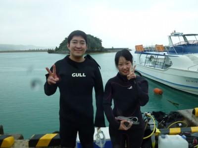 青の洞窟体験ダイビング写真1