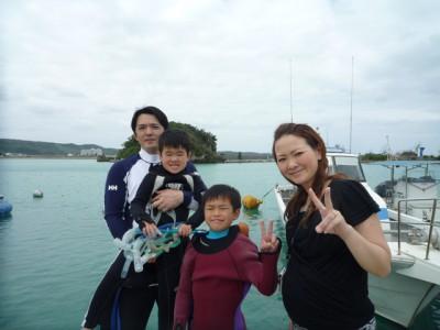 沖縄シュノーケルキッズツアー