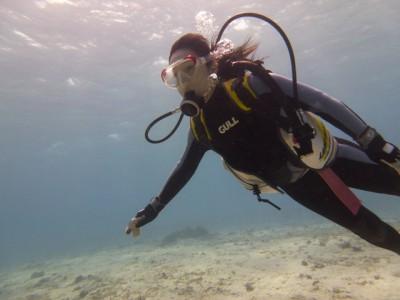 Wコース体験ダイビング写真3