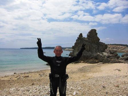 沖縄本島ビーチダイビング