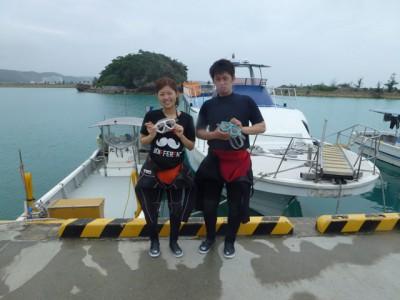 沖繩体験ダイビング&スノーケル