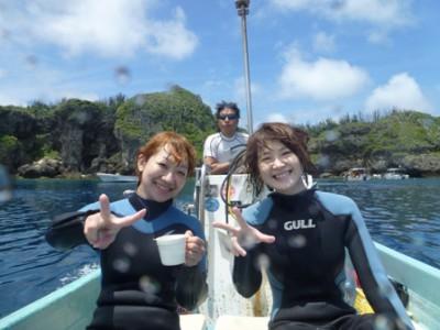 青の洞窟体験ダイビング5