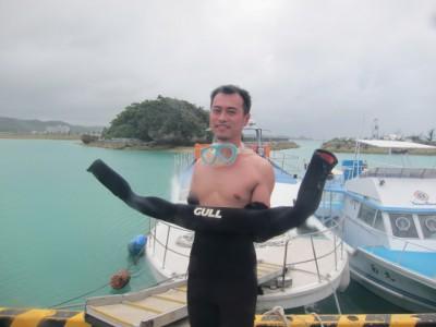英語対応体験ダイビング