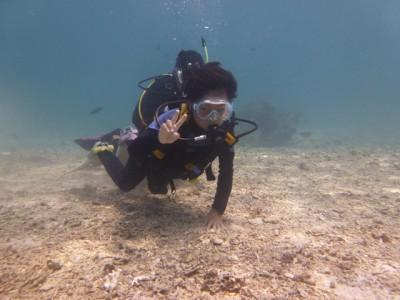 小学生体験ダイビング