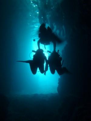 青の洞窟体験ダイビング2