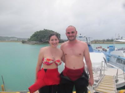 外国人対応体験ダイビング