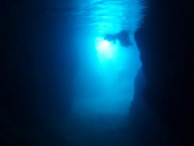 青の洞窟体験ダイビング9