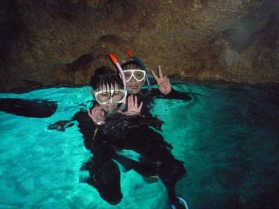 青の洞窟スノーケル 1