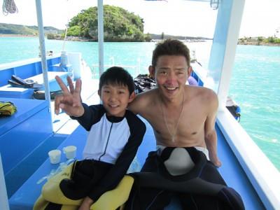 お魚いっぱいt来県ダイビング