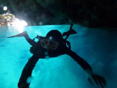 青の洞窟スノーケル5