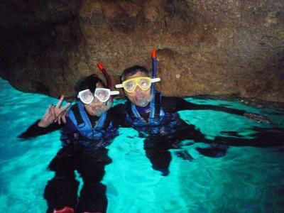 青の洞窟スノーケル2