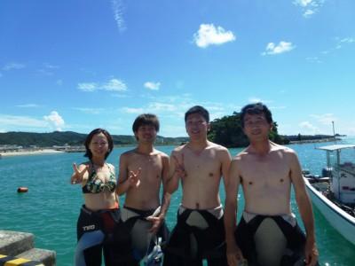 青の洞窟体験ダイビング8