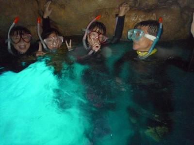 青の洞窟シュノーケル2