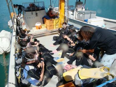 沖縄修学旅行体験ダイビング9