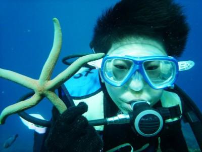 沖縄体験ダイビング9