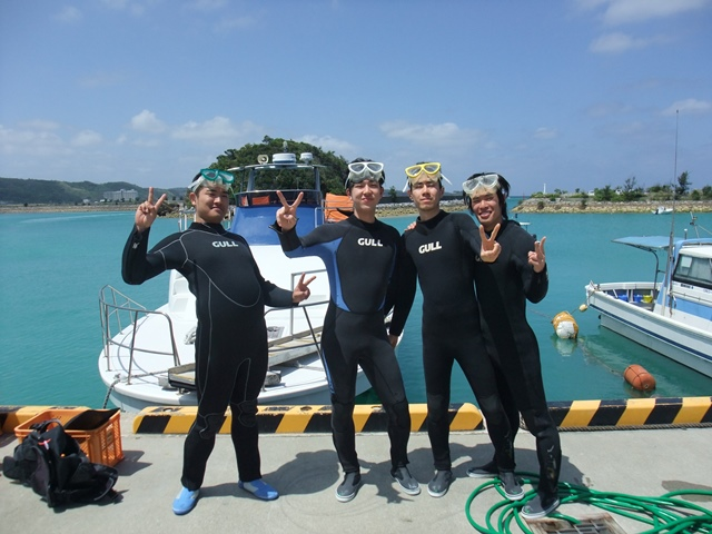 沖縄体験ダイビング2