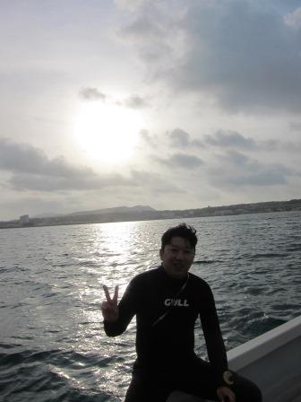 沖縄本島|早朝ダイビング|ブルーリーフ
