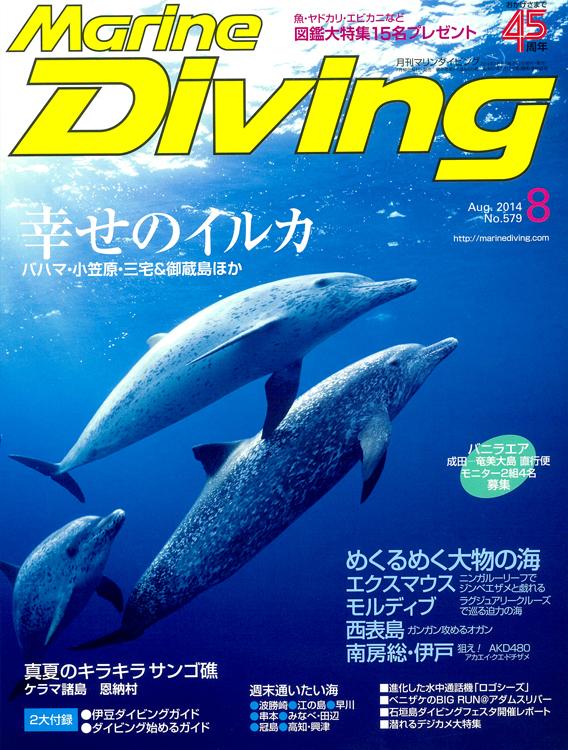 月刊マリンダイビング8月号|ブルーリーフ