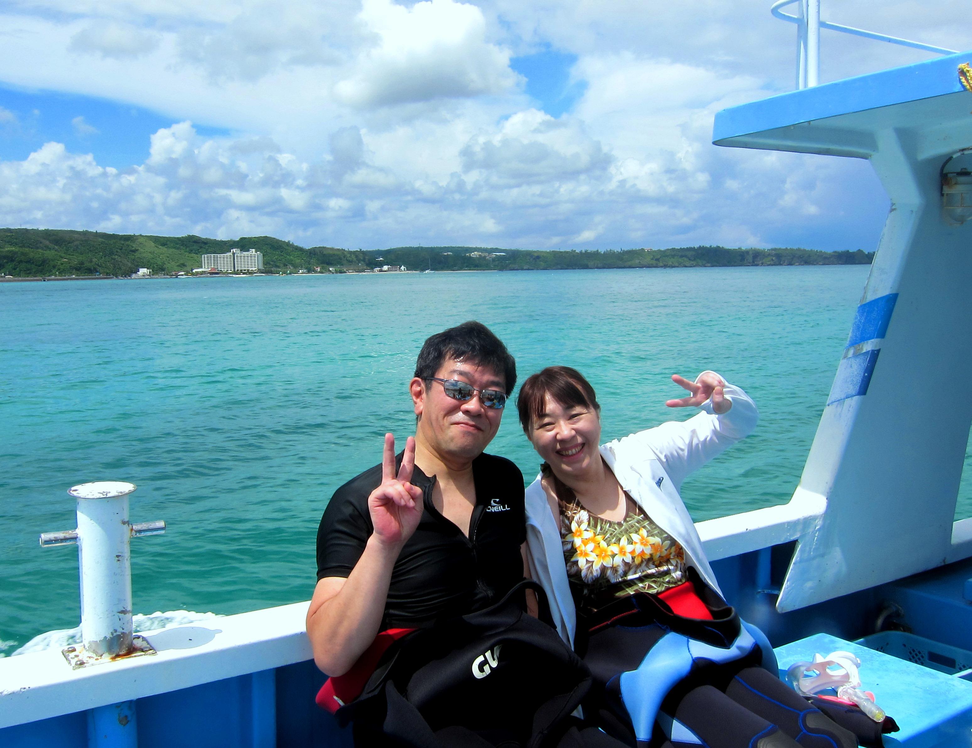 恩納村ボートダイビング|ブルーリーフ