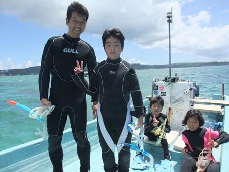 沖縄スノーケル2