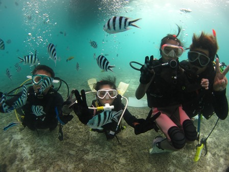 沖縄体験ダイビング7