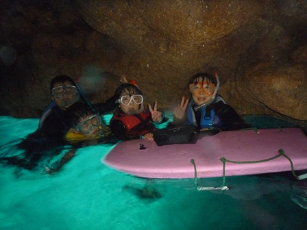 青の洞窟スノーケル