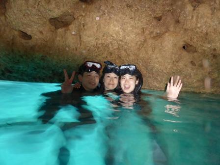青の洞窟スノーケルP1090460