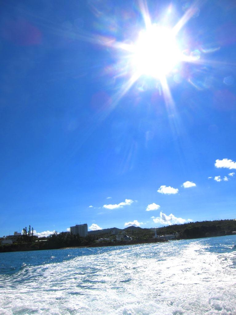 恩納村ボートダイビング