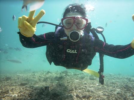 沖縄体験ダイビング「7