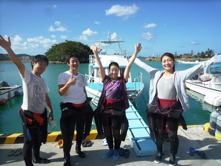 沖縄体験ダイビング3