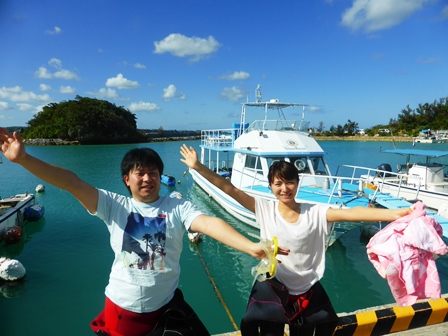 沖縄体験ダイビング「4
