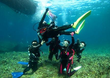 記念Diving|ブルーリーフ