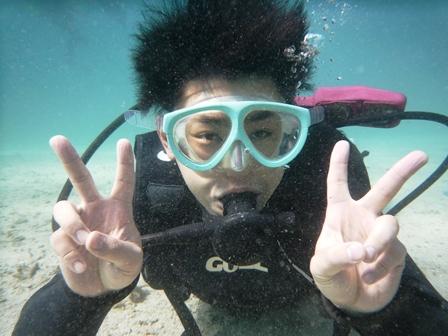 沖縄体験ダイビング「8