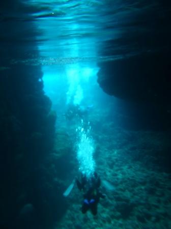 青の洞窟スノーケル3