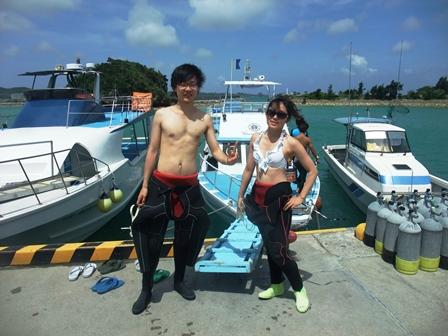沖縄 ダイビングDSCF6006