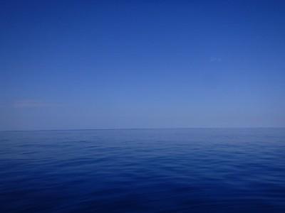 穏やかな海 沖縄