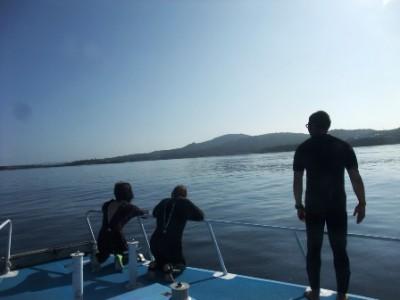 湖みたいな海