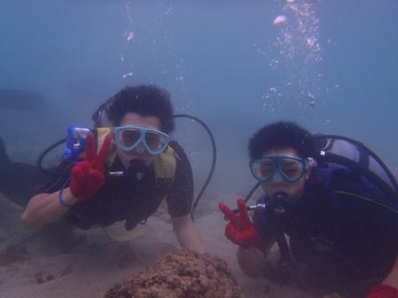沖縄修学旅行体験ダイビング