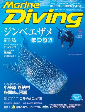 月刊マリンダイビング5月号