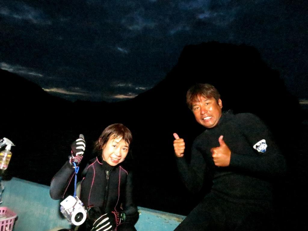 恩納村サンゴの産卵ナイトダイビング|ブルーリーフ