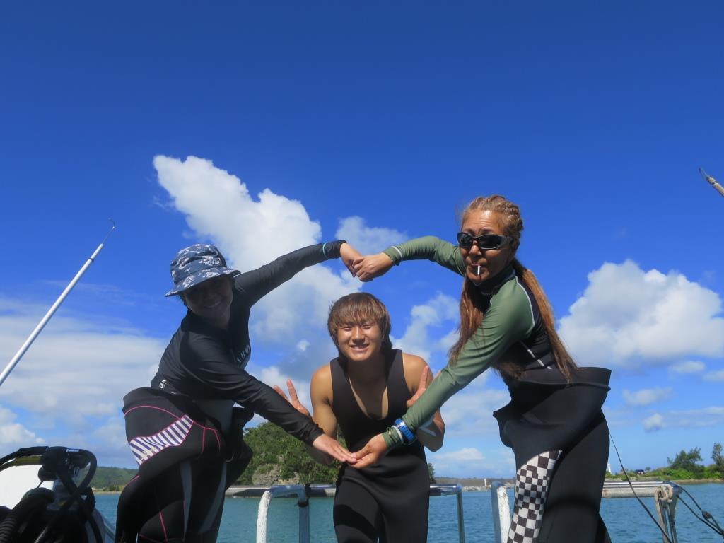 沖縄ダイビング ブルーリーフ