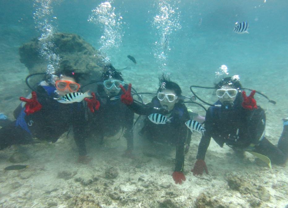 修学旅行体験ダイビング沖縄